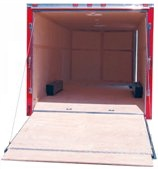 Car Trailer Ramp Door