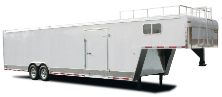 Gooseneck Car Trailer