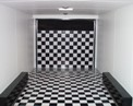 Beaver Tail With Checkerboard Floor And Ramp