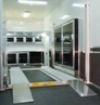 Trailer Base And Overhead Cabinets, Stinger Lift, And Wheel Well Cabinets