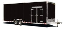 Double Trailer Doors