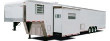 Gooseneck Living Quarters Trailer