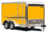 Penske Yellow Trailer