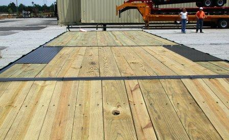 Ball Hitch Deck Over Trailers