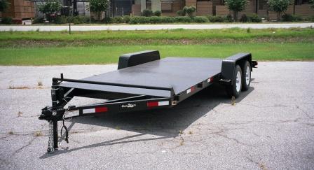 Tandem Axle Steel Deck Car Haulers