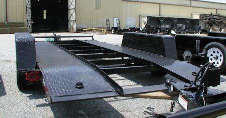 Steel Runner Deck Car Haulers