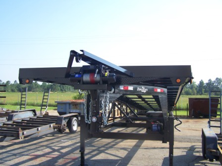 Car Hauler Wedge Trailer from TrailerShowroom.com
