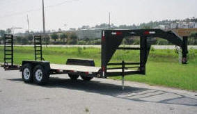 Gooseneck Equipment Trailers