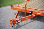 Gooseneck Fifth Wheel Deck Over Equipment Trailer