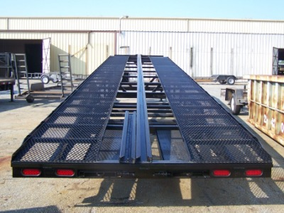3 To 4 Car Hauler Wedge Trailers