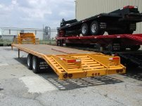 10 Ton Fifth Wheel Deck-Over Trailer