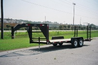 Fifth Wheel Equipment Trailer