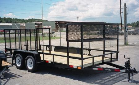 Landscape And Utility Trailers
