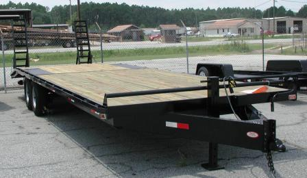 Ball Hitch Deck Over Equipment Trailers