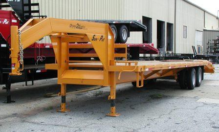 Gooseneck 5th Wheel Deck Over Equipment Trailers