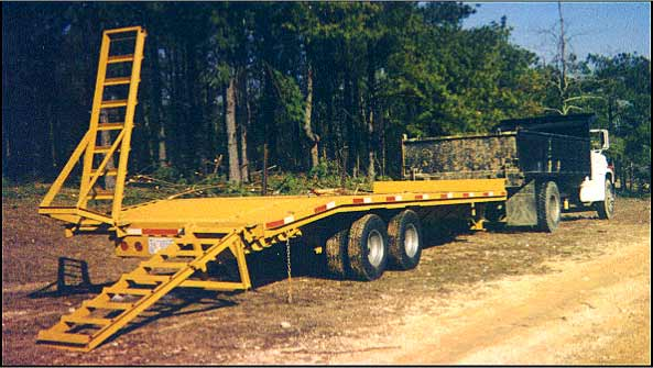 Pintle Hitch Tandem Dually Heavy Equipment Trailer