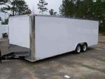 Car Carrier Hauler Cargo Trailer Sales