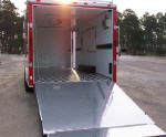 Car Carrier Hauler Cargo Trailer