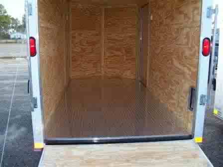 7x14 enclosed trailer 7 x 14 tandem axle trailers for Tandem flooring