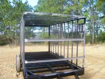 6x10 Enclosed Trailer 6 X 10 Single Axle Trailer