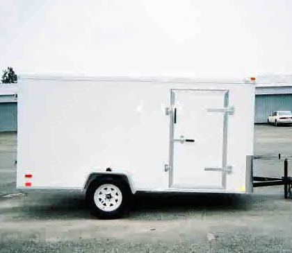 standard6ft2 6x10 enclosed trailer, 6 x 10 single axle trailer trailer showroom Trailer Lights Wiring-Diagram at reclaimingppi.co