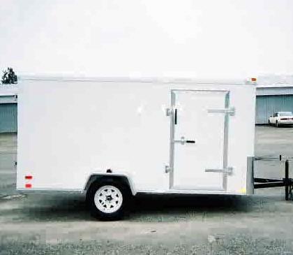 6x10 Enclosed Trailer, 6 x 10 Single Axle Trailer ...