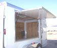 Trailer Concession Door Side View
