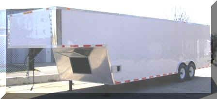 8 5x30 5th Wheel Enclosed Trailer Car Hauler Trailer