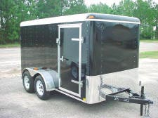7 x 14 Enclosed Trailer from Trailershowroom.com