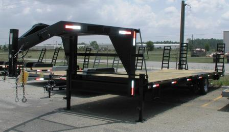 Fifth Wheel Deck Over Equipment Trailers