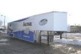 Aluminum Gooseneck Enclosed Car Hauler Trailer