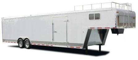 5th Wheel Trailer Mods, 5th Wheel Enclosed Cargo And Car Trailer, 5th Wheel Trailer Mods