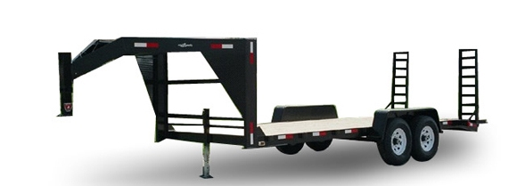 Gooseneck Fifth Wheel Ball Hitch Pintle Trailers Open Deck Cargo
