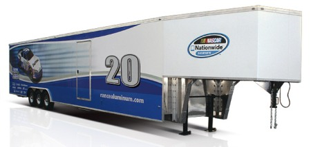 Aluminum Gooseneck Race Car Trailer