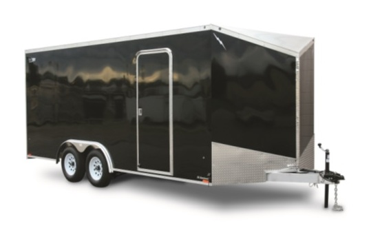V-Nose Aluminum Car Trailer - Lightning Economy Series