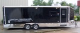 Aluminum Enclosed Car Trailer 8.5X20