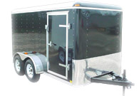 Cargo Car Motorcycle Hauler Enclosed Trailers