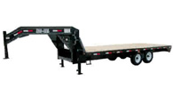 Ball Hitch Gooseneck Fifth Wheel Deck Over Equipment Trailer Color Choices